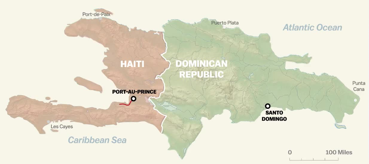 Haiti dominican republic borders gumiabroncs Choice Image